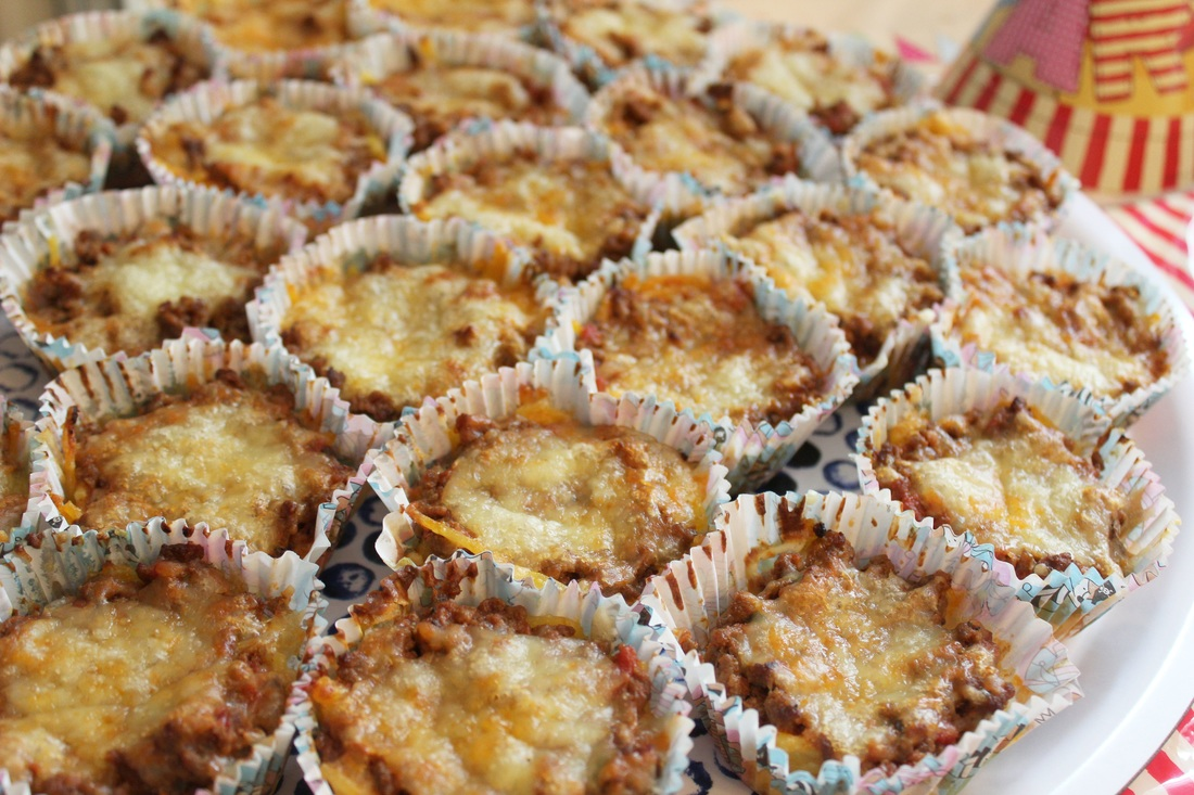 Lasagnemuffins: Partysnack für Kinder