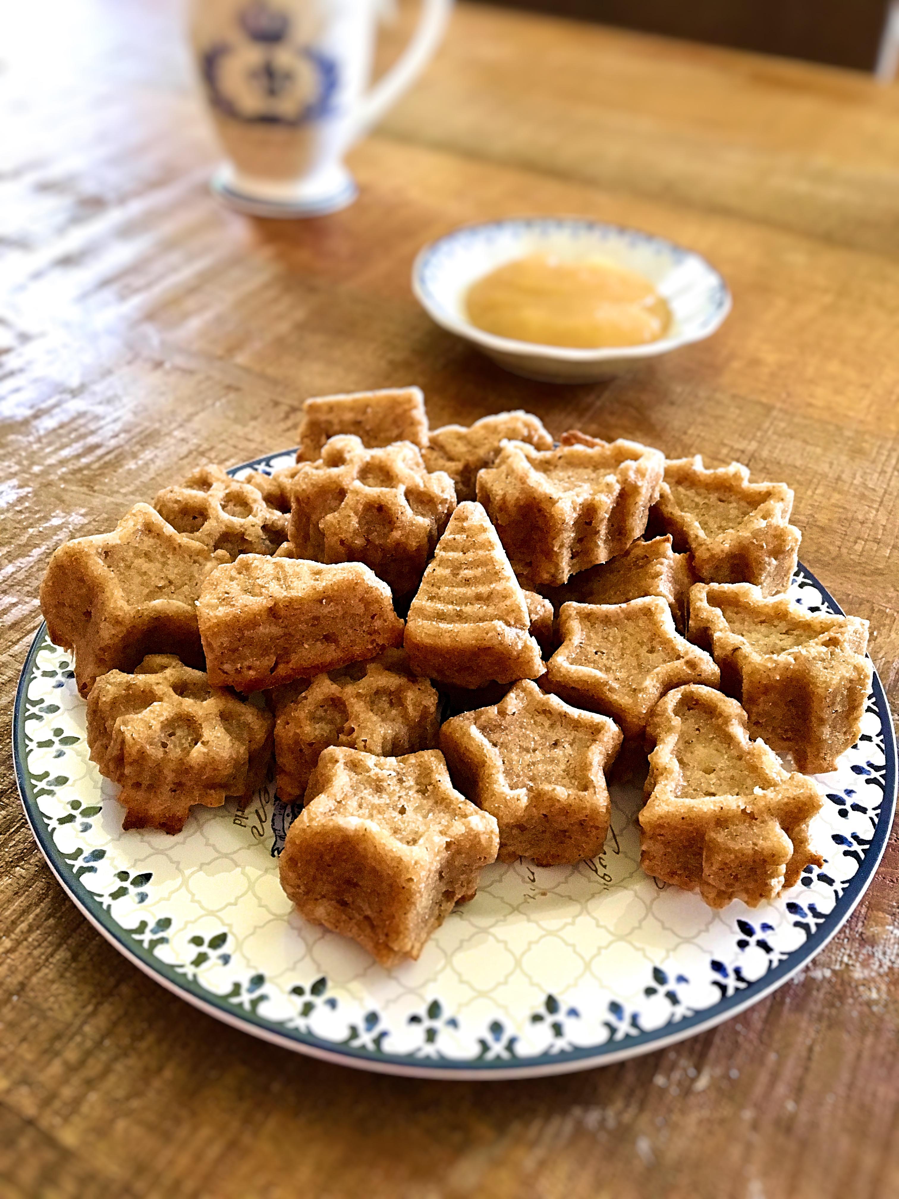 Apfelmus-Minimuffins (vegan und zuckerfrei)