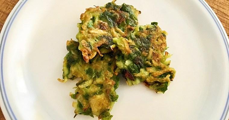 Kartoffel-Mangold Puffer