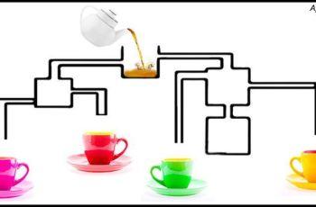 Коя чаша ще се напълни първа?