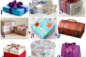 Коя от кутиите бихте отворили? Изберете подарък и разберете какво ви очаква през новата година!