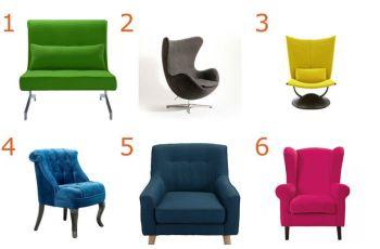 Изберете креслото, в което бихте седели и научете нещо ново за себе си