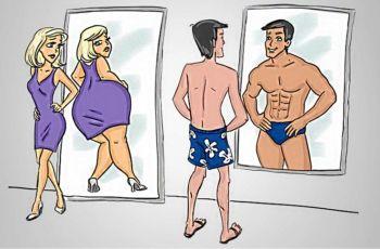 Разлики между мъжа и жената