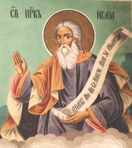 18 Дясно пророк Исая