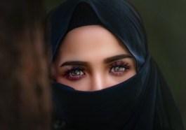 dívka v hidžábu