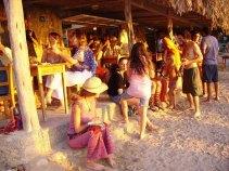 Party na plážích na Ibize