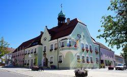 Krásná radnice ve Waldmünchenu