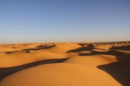 Největší část Tuniska zabírá Sahara.