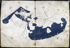 Ptolemaiova mapa světa (2. stol.)