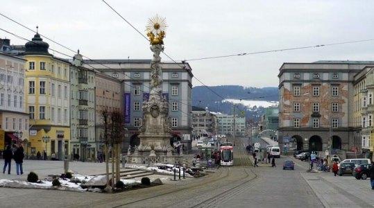 Hlavní náměstí vLinci