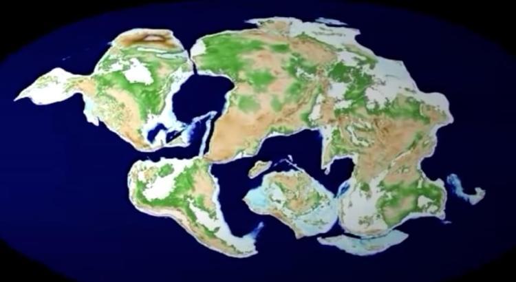 pohyb kontinentů