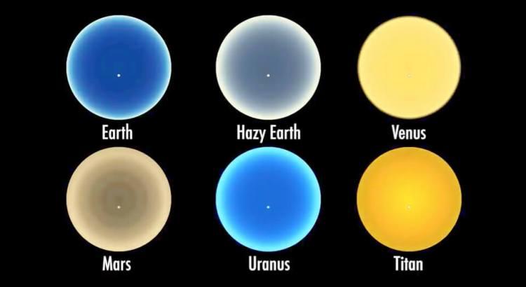 západy slunce na planetách