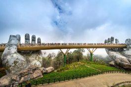 Zlatý most Vietnam