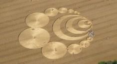 kruh v obilí