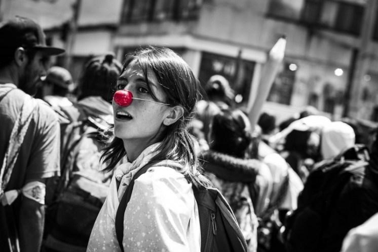 Červený nos