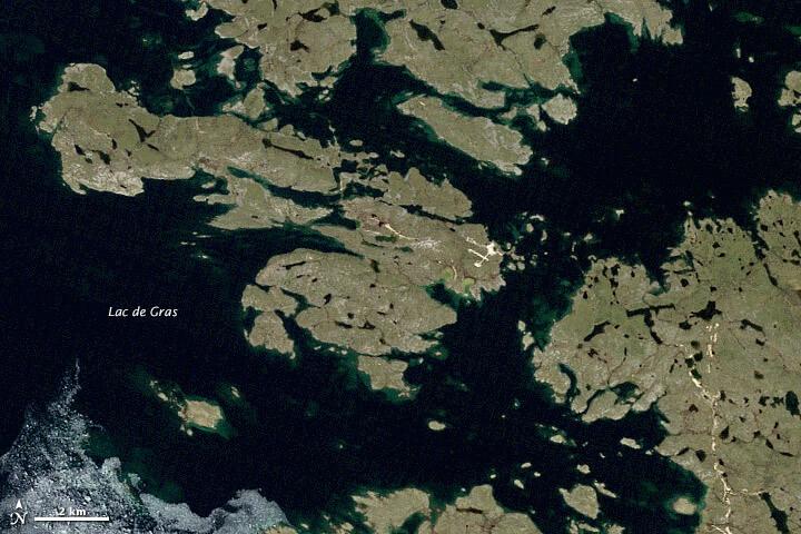 Důl Diavik vroce 1998