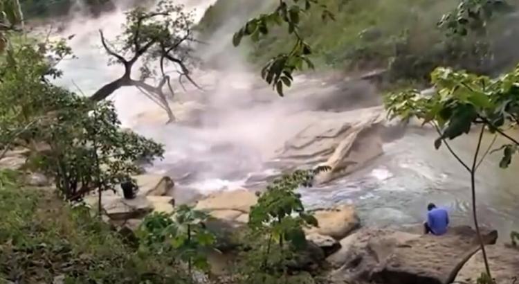 vroucí řeka