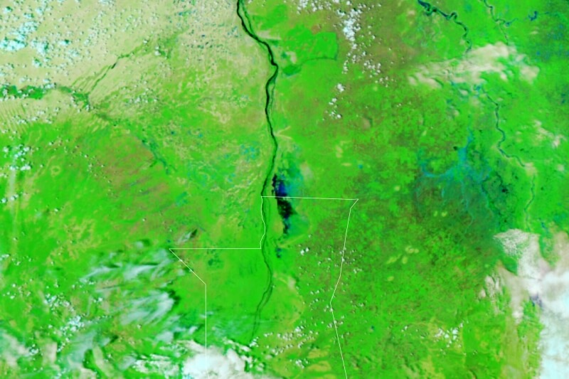 Povodně Súdán 2021