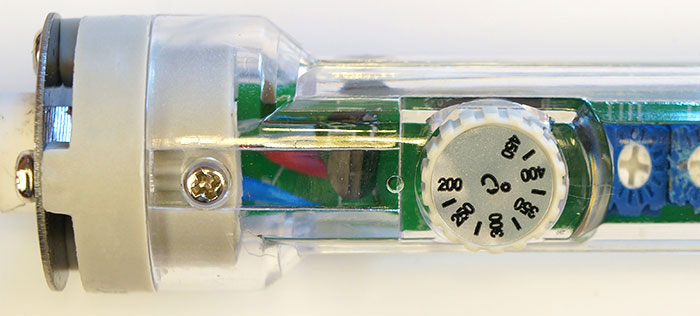 kontrol suhu pada besi solder