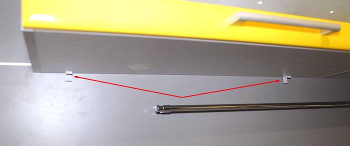 Жарықдиодты таспа профилін орнатуға арналған клиптер