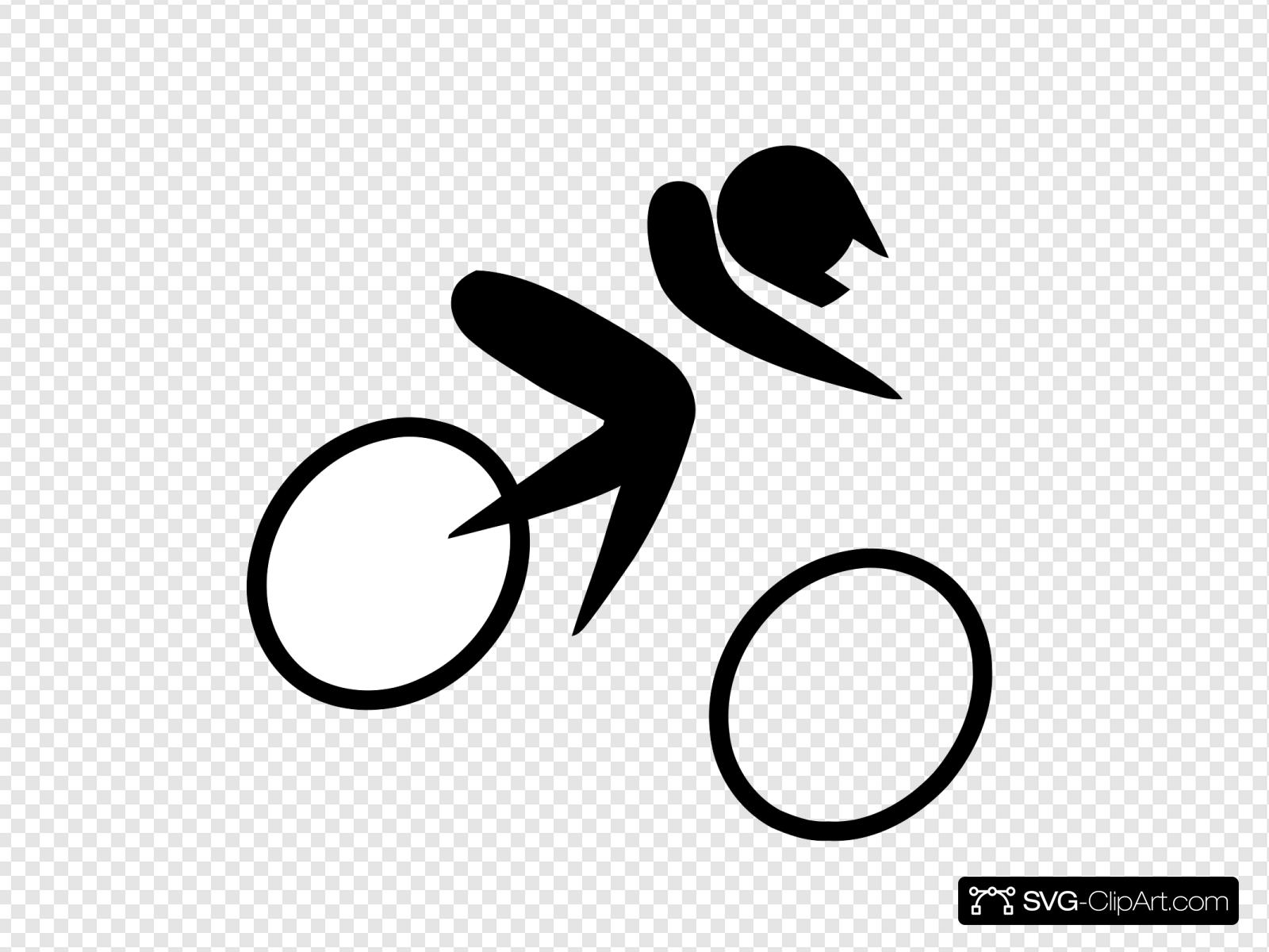 Olympic Sports Cycling Bmx Pictogram Svg Vector Olympic
