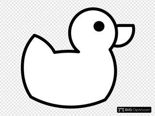 Jack Duck Clip Art Icon And Svg
