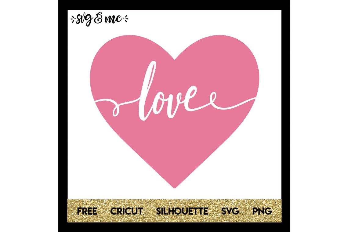 Download Love Heart Cut Out - SVG & Me