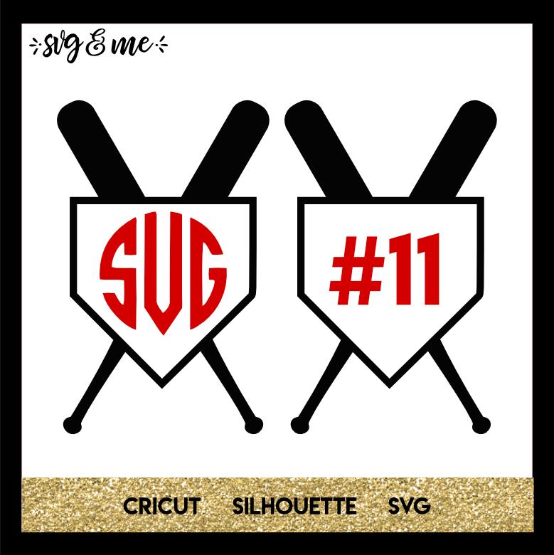Download Baseball Monogram - SVG & Me
