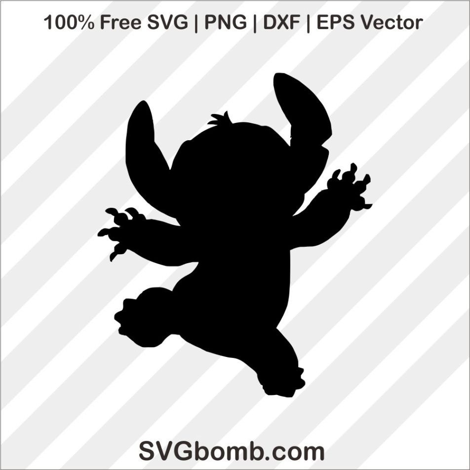 Download Stitch Silhouette SVG Cutting File | SVGBOMB
