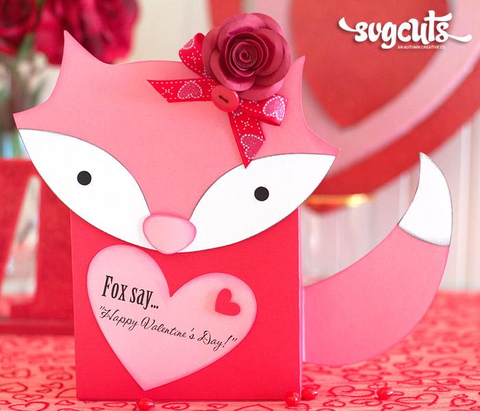 Foxy Valentines Day Mail Box By Ilda Dias Blog