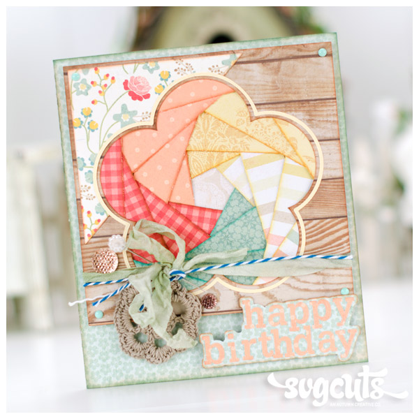 Iris Fold Cards SVG Kit Blog
