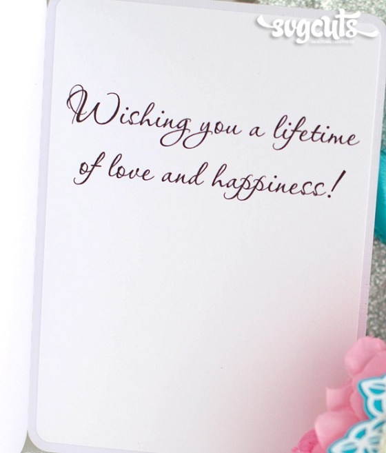 Wedding Shower Gift Card Messages Lading For