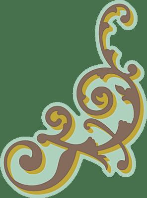 Corner Flourish Free SVG Cutting File