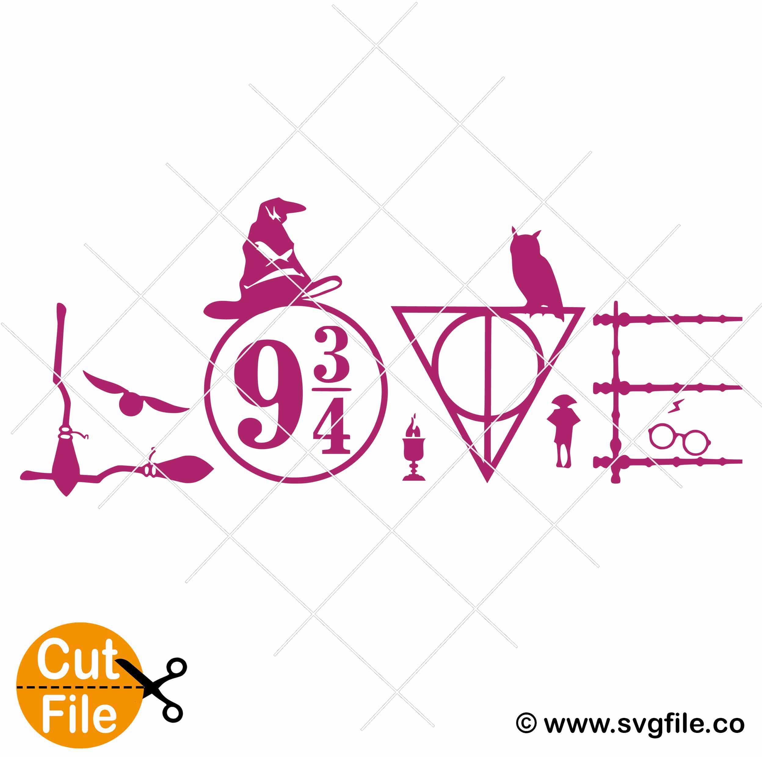 Download Harry Potter Love svg 001 - Svgfile.co - 0.99 Cent SVG ...