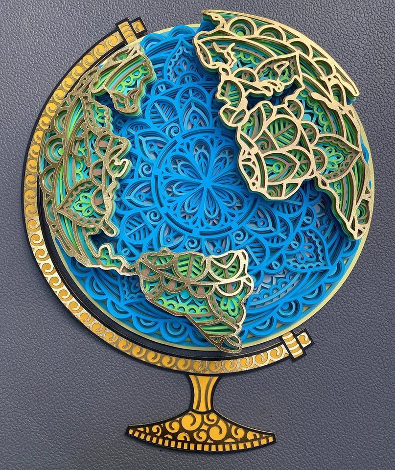 Download 3D Globe Mandala SVG - Svgfile.co - 0.99 Cent SVG Files ...