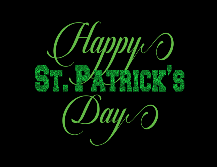 happy st patrick's day free svg