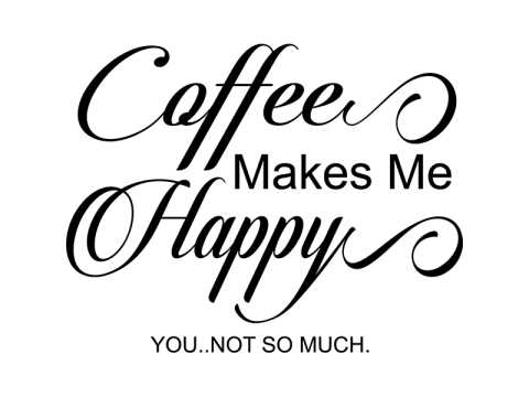 coffee make me happy free svg file