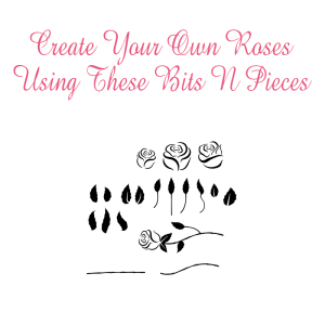build your own rose free svg file