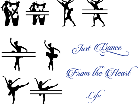 free dance svg file