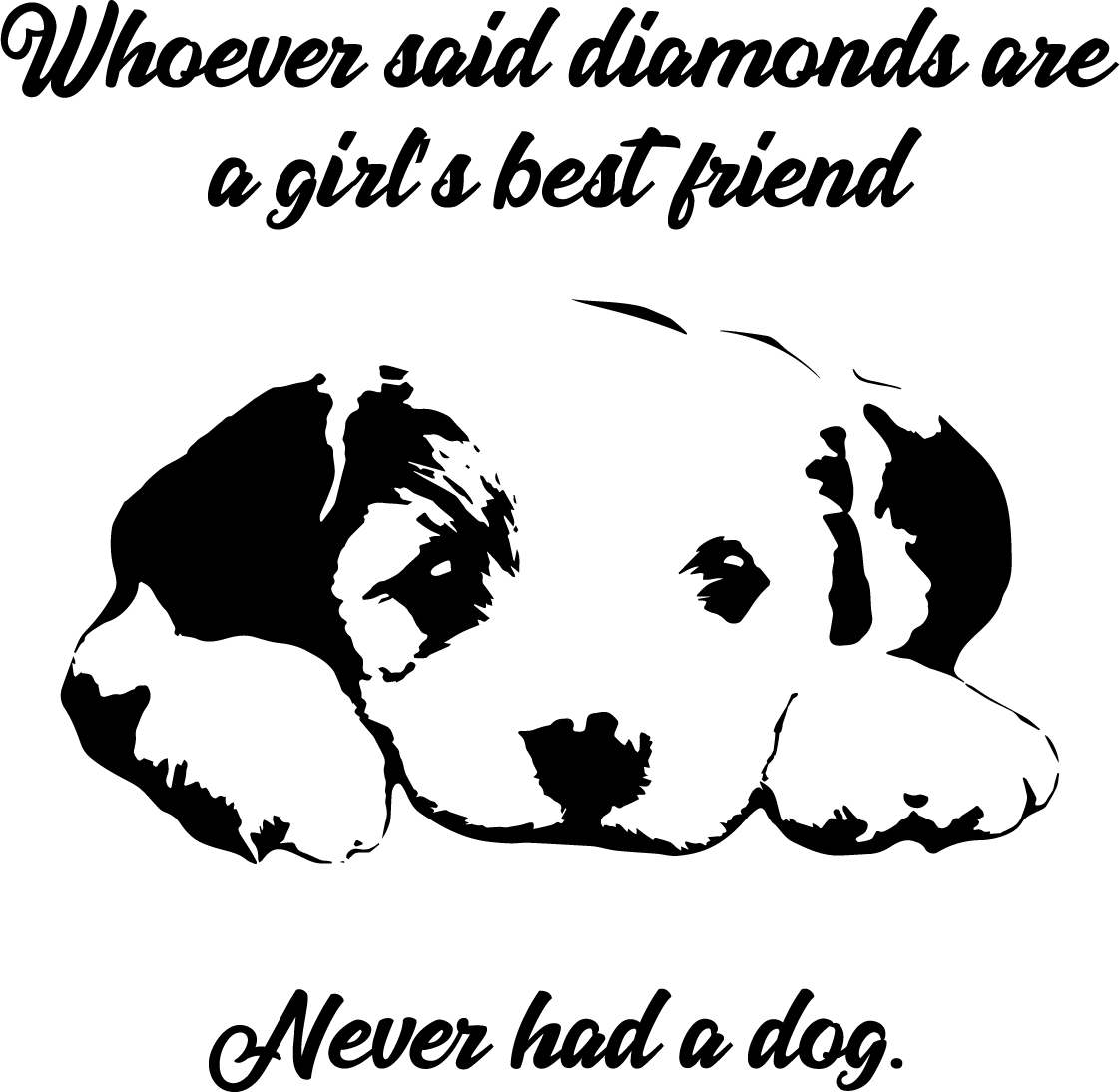 0b32d02f95365 Girl's Best Friend, Puppy Free SVG | Free SVG Files & More
