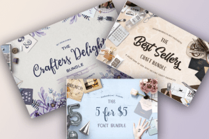 Premium Font Bundles, Premium Design Bundles, Premium Design Elements
