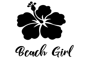 Download Beach Girl SVG File Free | Free SVG Files & More