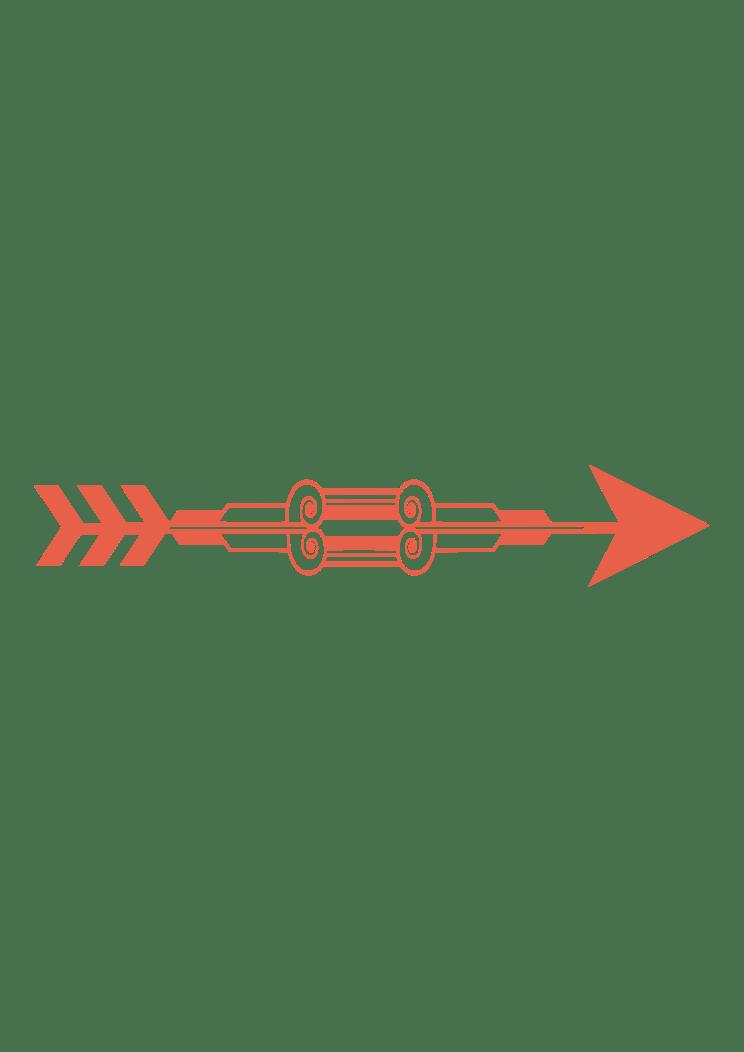 Download Decorative Right Arrow Free SVG File - SvgHeart.com
