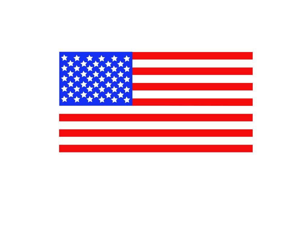 Download Patriotic American Flag Monogram Frames SVG DXF EPS ...