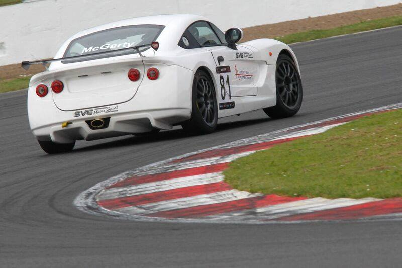Phil McGarty Ginetta at Silverstone