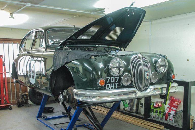 Jaguar Mk2 Sprint and Hillclimb car