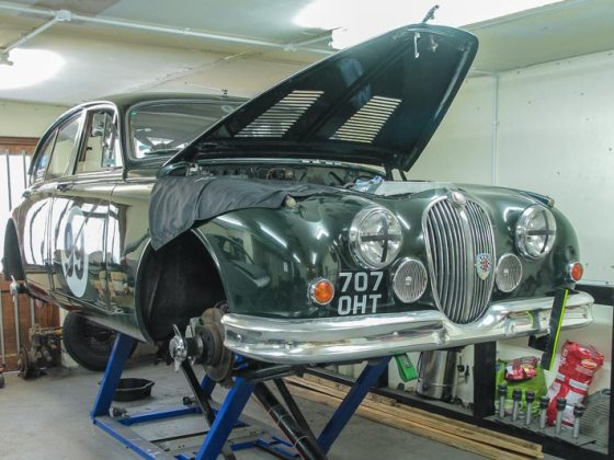 Jaguar Mk2 Sprint and Hillclimb car