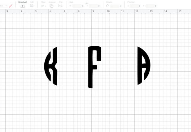 monogram-initials