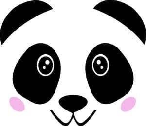 face-mask-panda-face