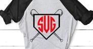 Baseball Monogram Shirt